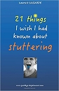 Buch: 21 things I wish I had known about stuttering